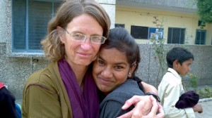 Brand new glasses in India and a hug