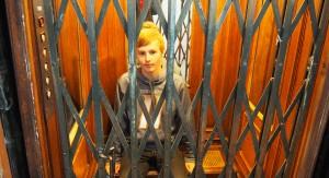 The elevator to the Dixon's apartment
