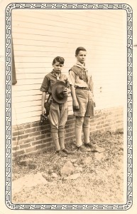 My dad (on the right) and his younger brother, Doug