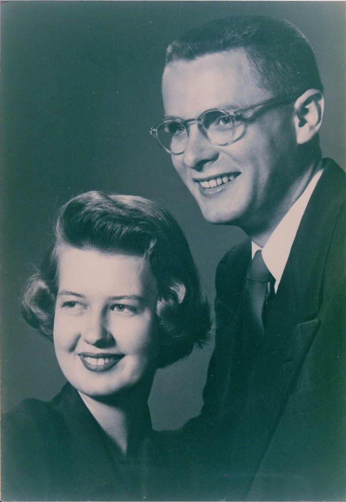 Mom and Dad in 1951