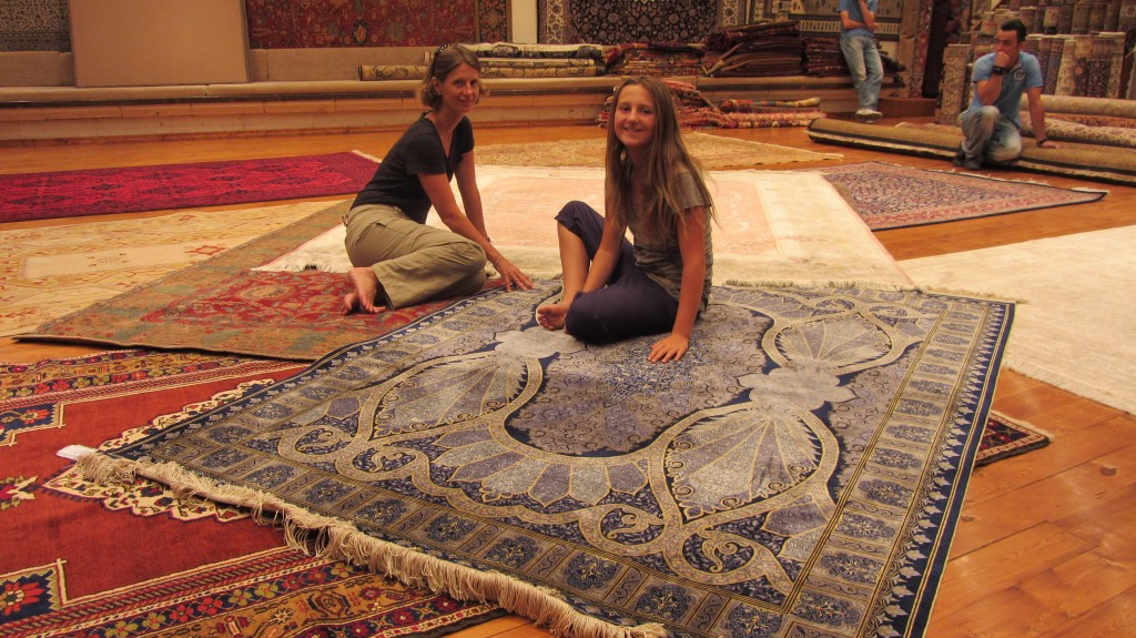 $20,000 rugs for sale, Ürgüp, Turkey